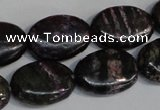 CSG74 15.5 inches 10*14mm oval long spar gemstone beads wholesale
