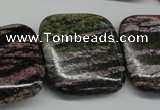 CSG80 15.5 inches 30*30mm square long spar gemstone beads wholesale