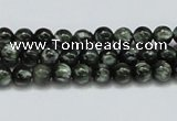 CSH01 15.5 inches 6mm round natural seraphinite gemstone beads