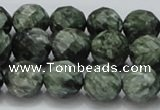CSH09 15.5 inches 14mm faceted round natural seraphinite beads