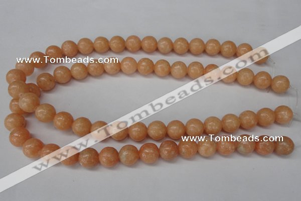 CSM05 15.5 inches 12mm round salmon stone beads wholesale
