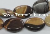 CSN07 15.5 inches 15*20mm oval new snake skin jasper beads