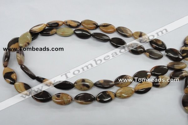 CSN09 15.5 inches 12*20mm marquise new snake skin jasper beads