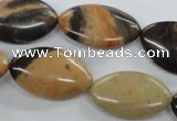 CSN11 15.5 inches 15*25mm marquise new snake skin jasper beads