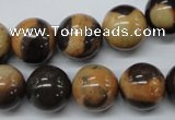 CSN15 15.5 inches 14mm round new snake skin jasper beads