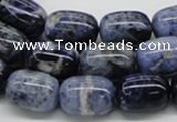 CSO42 15.5 inches 13*18mm egg-shaped sodalite gemstone beads wholesale