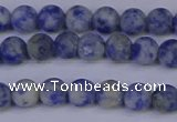 CSO531 15.5 inches 6mm round matte African sodalite beads wholesale