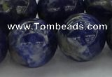 CSO639 15.5 inches 20mm round sodalite gemstone beads wholesale