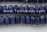 CSO651 15.5 inches 4*6mm rondelle sodalite gemstone beads