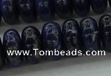 CSO655 15.5 inches 8*14mm rondelle sodalite gemstone beads