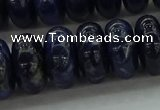 CSO656 15.5 inches 9*16mm rondelle sodalite gemstone beads