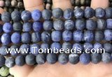 CSO842 15.5 inches 8mm round matte sodalite beads wholesale
