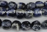 CSO86 15.5 inches 10*12mm nuggets sodalite gemstone beads