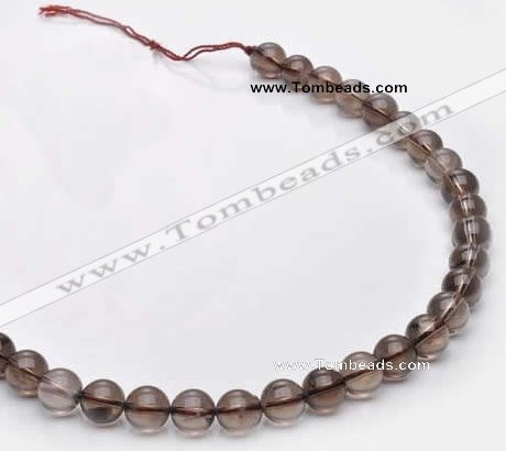 CSQ14 A grade 10mm round natural smoky quartz beads Wholesale