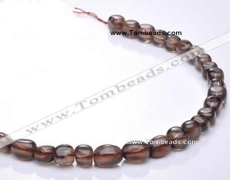CSQ17 A grade multi sizes irregular natural smoky quartz beads
