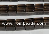 CSQ31 15 inches 10*10mm cube natural smoky quartz beads wholesale