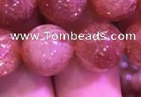 CSS311 15.5 inches 12mm round golden sunstone gemstone beads