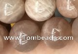 CSS694 15.5 inches 12mm round sunstone beads wholesale