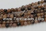 CST01 15.5 inches 4mm round staurolite gemstone beads wholesale