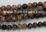 CST02 15.5 inches 6mm round staurolite gemstone beads wholesale