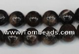 CST38 15.5 inches 12mm round staurolite gemstone beads wholesale