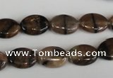 CST47 15.5 inches 12*16mm oval staurolite gemstone beads wholesale