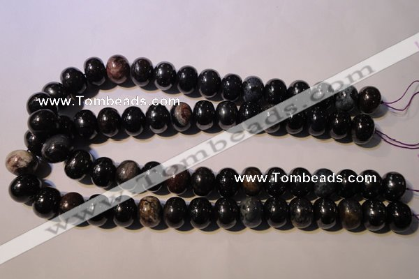CSU124 15.5 inches 12*16mm rondelle natural sugilite gemstone beads