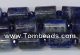 CTB200 15.5 inches 10*15mm tube lapis lazuli gemstone beads