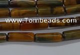 CTB352 15.5 inches 4*13mm tube tiger eye beads wholesale