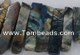 CTD1667 Top drilled 8*20mm - 10*50mm sticks agate gemstone beads