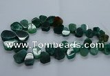 CTD2605 Top drilled 13*18mm - 23*33mm freeform agate beads