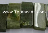 CTD2693 Top drilled 16*22mm - 16*55mm rectangle agate beads