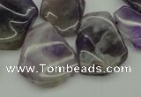 CTD304 Top drilled 15*20mm - 20*25mm freeform dogtooth amethyst beads