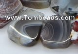 CTD3643 Top drilled 15*20mm - 25*30mm freeform botswana agate beads