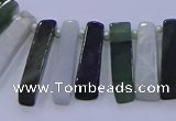 CTD3695 Top drilled 6*15mm - 8*35mm sticks jade beads wholesale