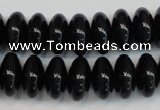 CTE1181 15.5 inches 8*15mm rondelle blue tiger eye beads
