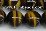 CTE1246 15.5 inches 14mm round AA grade yellow tiger eye beads