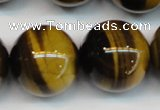 CTE1254 15.5 inches 14mm round AAA grade yellow tiger eye beads