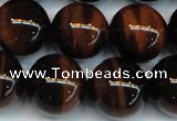 CTE1295 15.5 inches 12mm round AA grade red tiger eye beads
