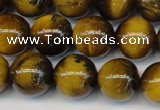 CTE1310 15.5 inches 6mm round B grade yellow tiger eye beads