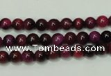 CTE135 15.5 inches 6mm round dyed tiger eye gemstone beads