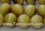 CTE1404 15.5 inches 12mm round golden tiger eye beads wholesale