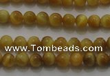 CTE1410 15.5 inches 4mm round golden tiger eye beads wholesale