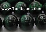 CTE1426 15.5 inches 16mm round green tiger eye beads wholesale