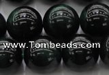 CTE1434 15.5 inches 12mm round green tiger eye beads wholesale