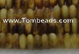 CTE1510 15.5 inches 4*6mm rondelle golden tiger eye beads