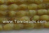 CTE1514 15.5 inches 5*8mm rice golden tiger eye beads wholesale