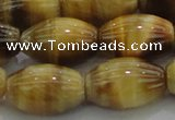 CTE1519 15.5 inches 13*18mm rice golden tiger eye beads wholesale