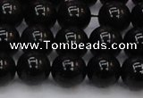 CTE1613 15.5 inches 10mm round A grade black tiger eye beads
