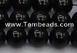 CTE1615 15.5 inches 14mm round A grade black tiger eye beads
